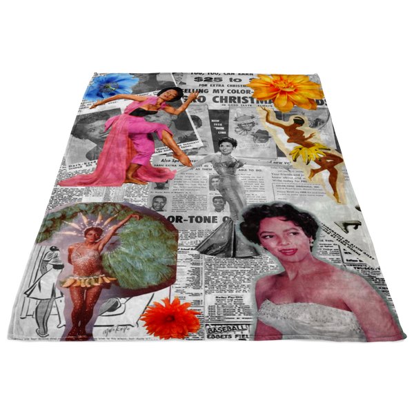 Black Women Dance! Fleece Blanket