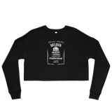 Melanin Whiskey Cropped Sweatshirt