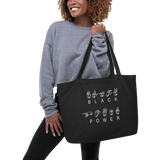 ASL Black Power Eco Tote