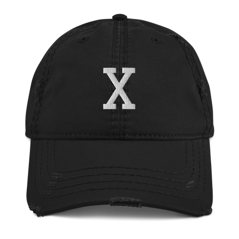 Classic Malcolm X Distressed Dad Hat