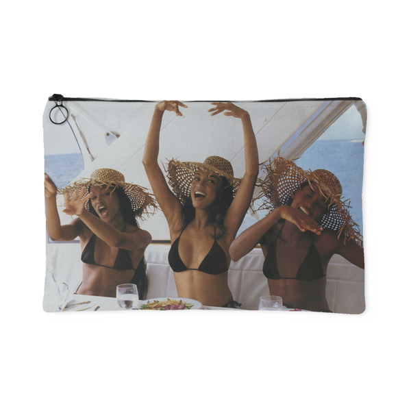 90's Supermodel Canvas Pouch