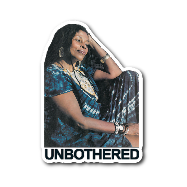 Assata Unbothered Sticker