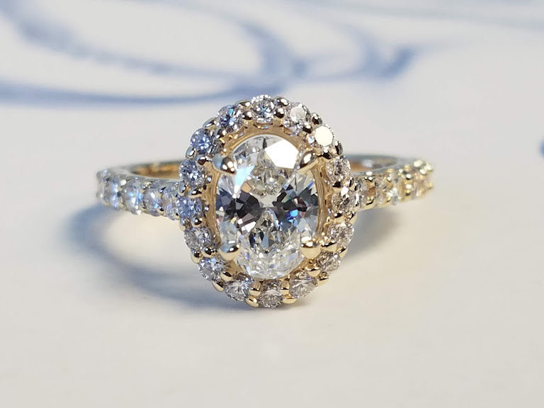 Custom Diamond Ring | Joseph Diamonds | Diamond Rings | Vintage Jewelry | Antique Rings | Best Place to Buy a Diamond Ring | Custom Diamond Ring
