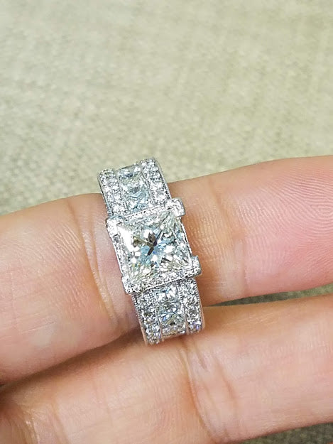 3 carat diamond Engagement Ring | Engagement Rings Kansas City | Diamond Wedding Ring for sale | Buy Engagement Ring in KC | KC Engagement Rings | Best place to buy diamond ring in KC
