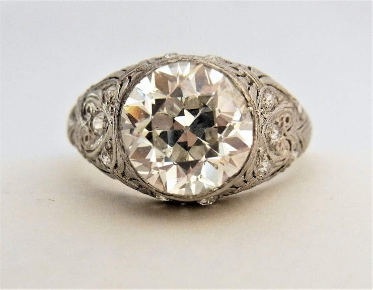 Estate Jewelry | Joseph Diamonds | Diamond Rings | Vintage Jewelry | Antique Rings | Best Place to Buy a Diamond Ring | Custom Diamond Ring