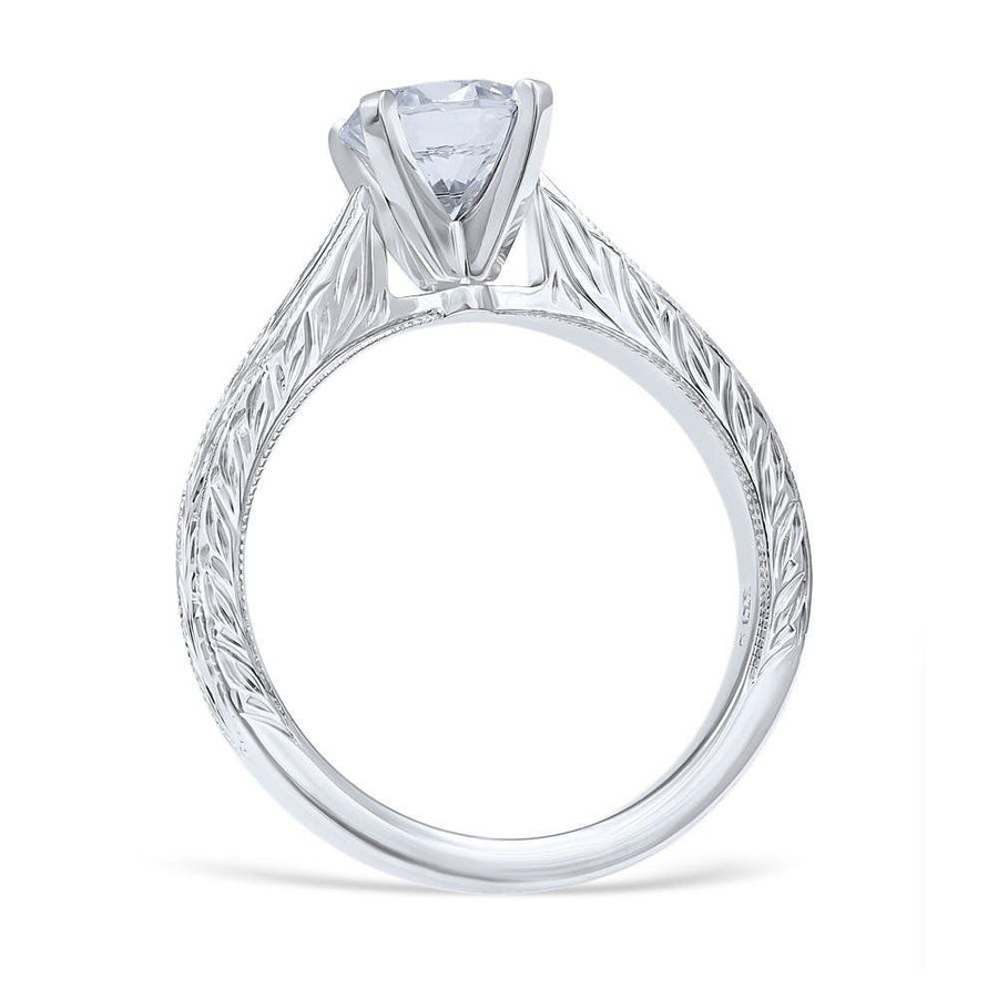 CRISTINA Vintage Inspired Engagement Ring