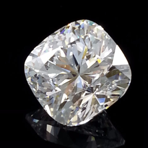 New 1-5 ct Cushion Square Cut Lannyte Lab Created Diamond Internally Flawless D-E Color