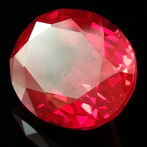 New 1-10 ct OVAL SHAPED Lannyte Lab Created Ruby
