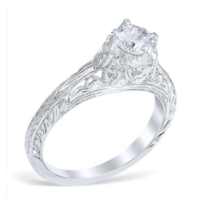 NOVARA Vintage Inspired Engagement Ring