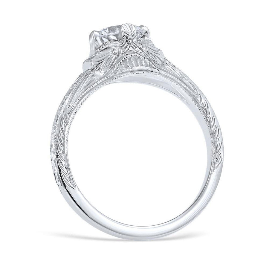 FIORELLA Vintage Inspired Engagement Ring
