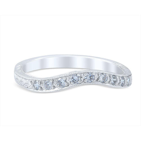 FIORELLA Vintage Inspired Wedding Ring