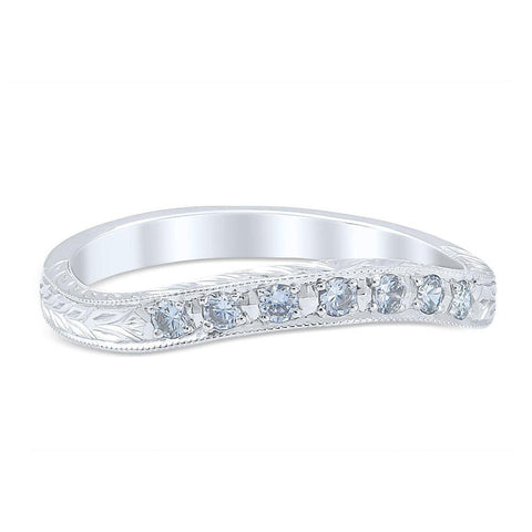 ROMANESQUE ARCADE Vintage Inspired Wedding Ring