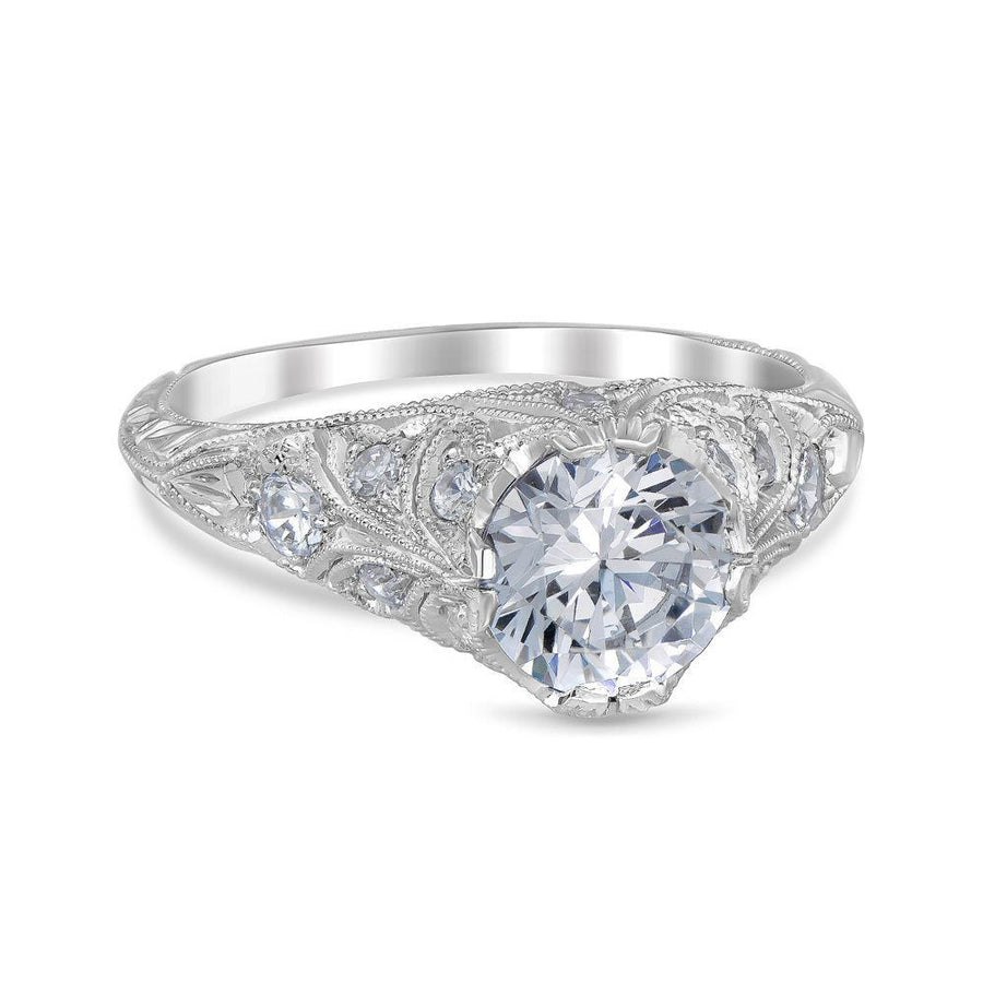 LAURA Vintage Inspired Engagement Ring