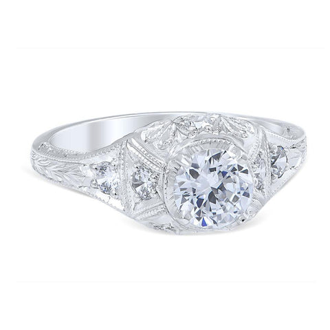 ISABELLA Vintage Inspired Engagement Ring