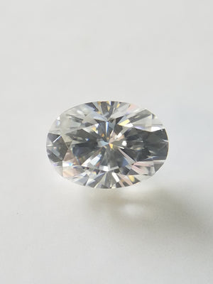Oval Brilliant Neo Moissanite E-F Vs-Vvs Loose Colorless Moissanite 1,2,3,4,5,6 ct