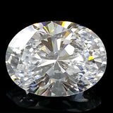 New 1-5 ct Oval Cut Lannyte Lab Created Diamond Internally Flawless D-E Color
