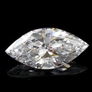 New 1-5 ct Marquise Cut Lannyte Lab Created Simulated Diamond Internally Flawless D-E Color