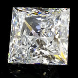 New 1-5 ct Princess Cut Lannyte Lab Created Diamond Internally Flawless D-E Color
