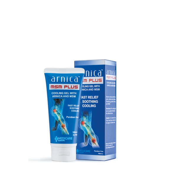 Arnica MSM Plus™ 100ml Cooling Gel - Natural Pain Relief