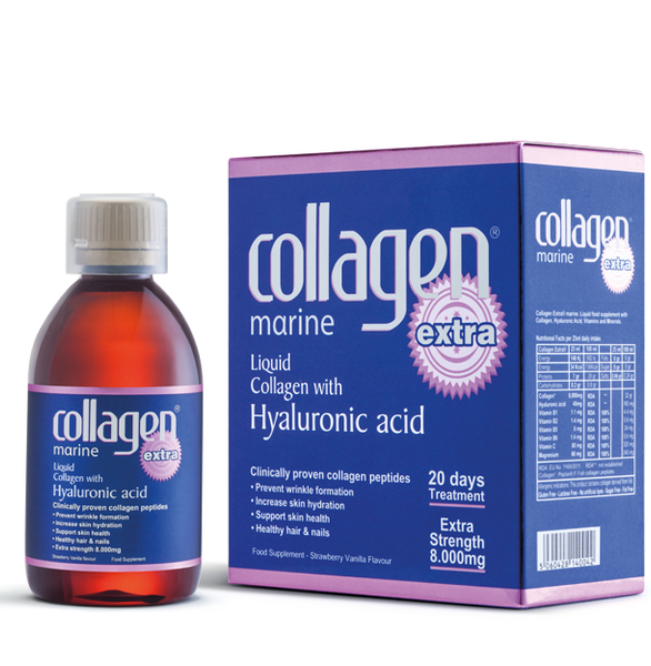 Collagen Extra ® Marine peptan® Box of 500ml 20 Day Anti-aging Treatment