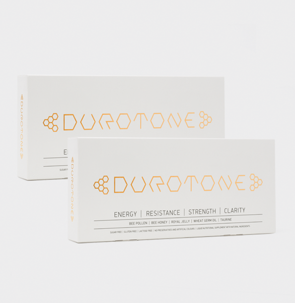 New Energy for the Winter - Durotone 2 Boxes 20 day slow released energy boost your