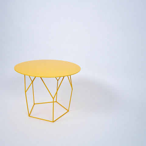COFFEE / SIDE TABLE - yellow