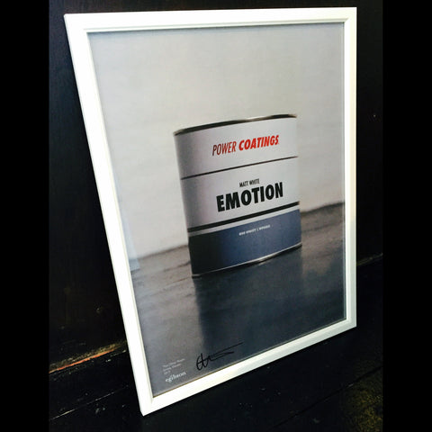 Emma Gibson - Matt White Emotion print