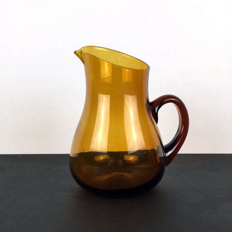 COCKTAIL JUG - amber