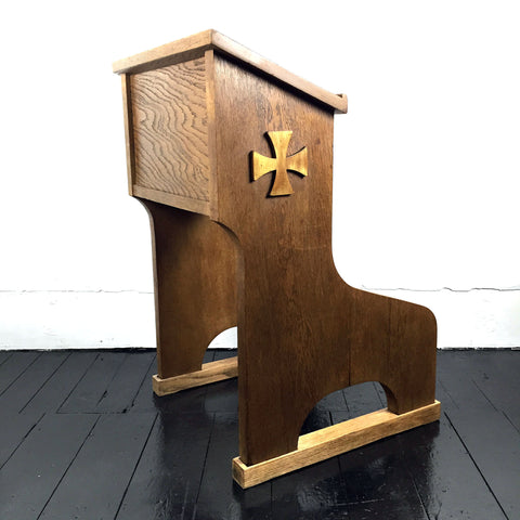 CHURCH CONFESSION BENCH