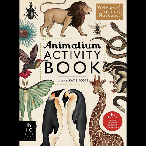 ANIMALIUM - Activity Book