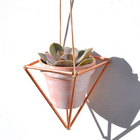 COPPER PLANT HANGER - small
