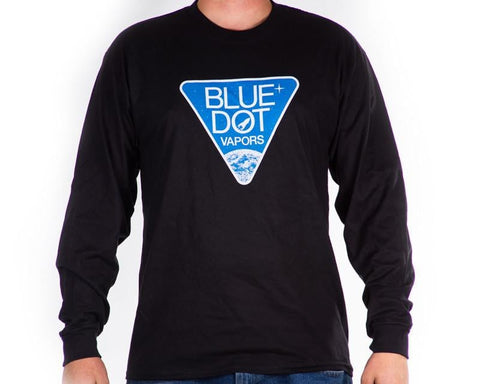 Blue Dot Long Sleeve Shirt