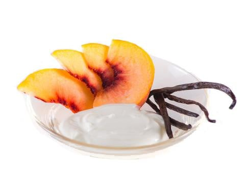 Vanilla White Peach Yogurt