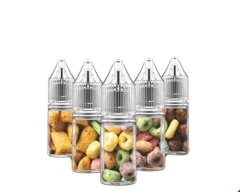 5 Bottle Cereal Flavors Sample Pack (50ml)