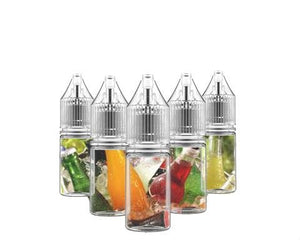 5 Bottle Drink Flavors Sample Pack (50ml)