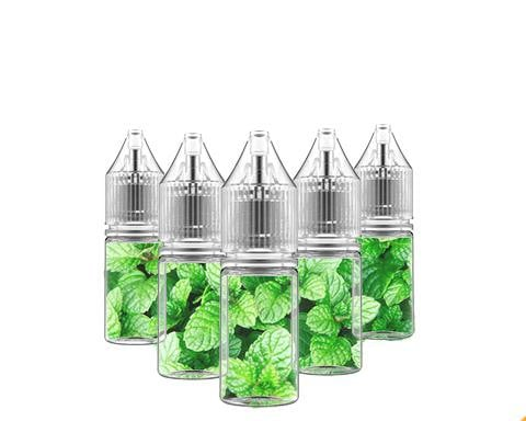 5 Bottle Menthol Flavors Sample Pack (50ml)
