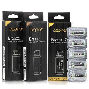 Coils - Aspire Breeze Coils (Pack of 5)