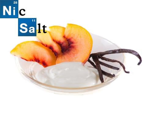 Vanilla White Peach Yogurt - NicSalt