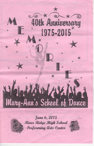 Mary-Ann's School of Dance - 2015