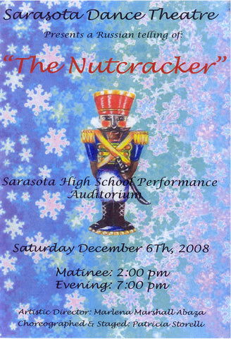 Sarasota Dance theater -NUTCRACKER- 2008