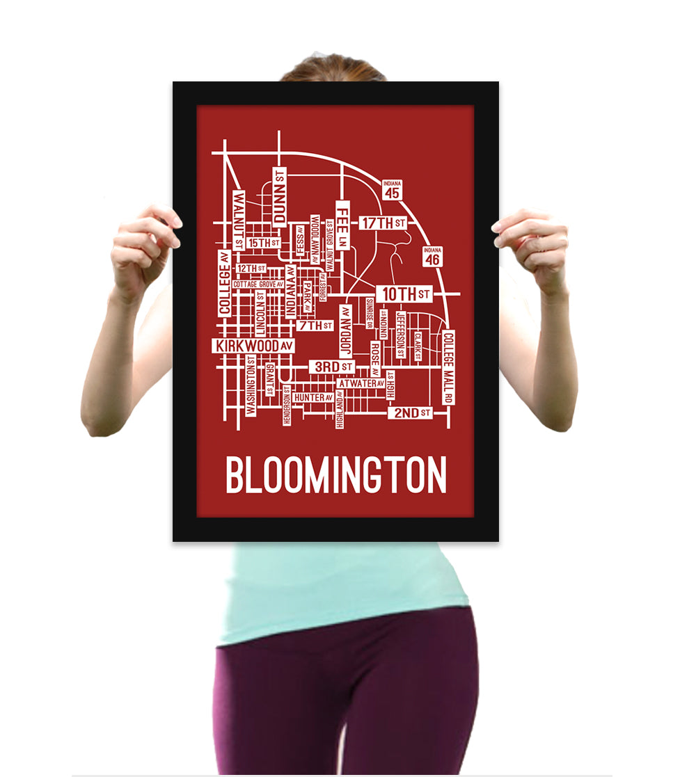 13 X 19 Rustic Wood Frame Without Print School Street Posters