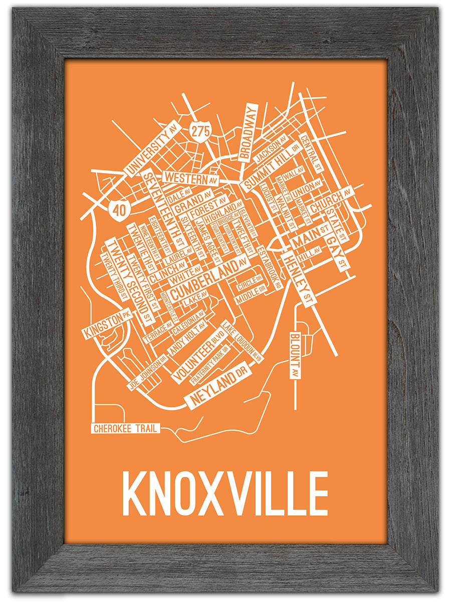 Knoxville, Tennessee Street Map Print on downtown knoxville map, keystone sd street map, bradley county tn street map, knoxville city map, knoxville tenn map, knoxville districts, clemson sc street map, indianapolis in street map, knoxville tn roads, miami fl street map, loudon tn street map, cleveland oh street map, knoxville city limits, knoxville view, aspen co street map, knoxville tn terrain, knoxville tn book, johnson city tn street map, athens tn street map, west knoxville map,