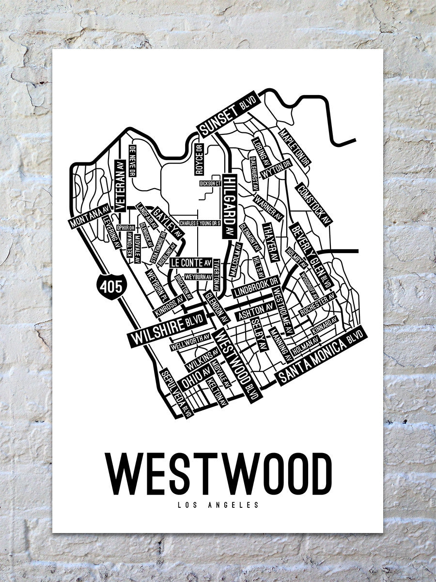 Westwood, Los Angeles Street Map Print - Street Posters on corpus christi street map printable, yuma street map printable, key west street map printable, usa interstate road maps printable, glendale street map printable, flagstaff street map printable, oregon state map printable, la county city map printable, barcelona tourist map printable, wyoming state map printable, sioux falls street map printable, tallahassee street map printable, alabama street map printable, paris street map printable, anchorage street map printable, california state road map printable, new york city manhattan street map printable, buffalo street map printable, mobile street map printable, salt lake city street map printable,