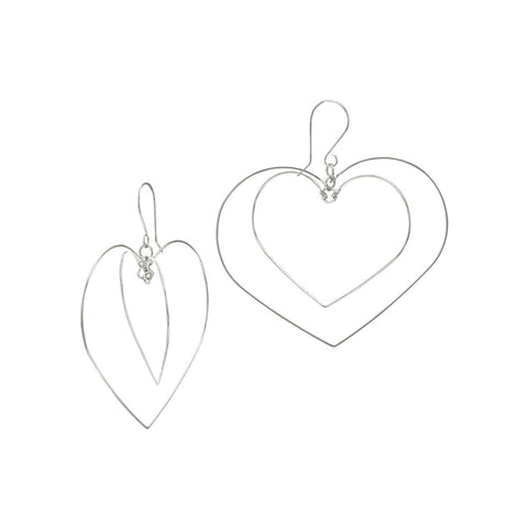 Hearts Light Earrings