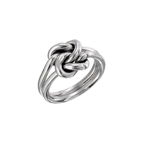 Separate Double Knot Ring