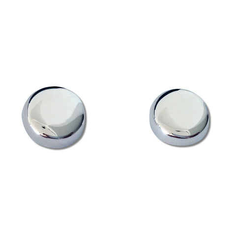Disc Stud Earrings
