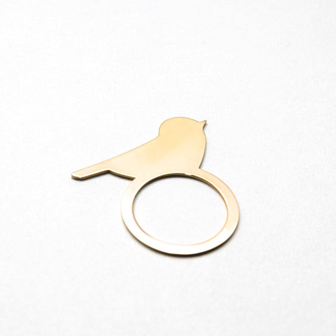 Bird Silhouette Ring