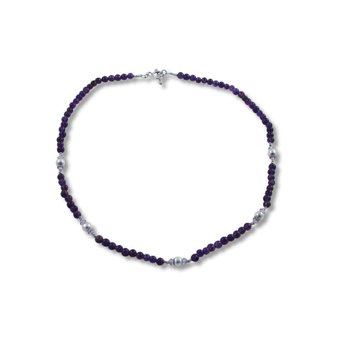 Carla Necklace - Amethyst