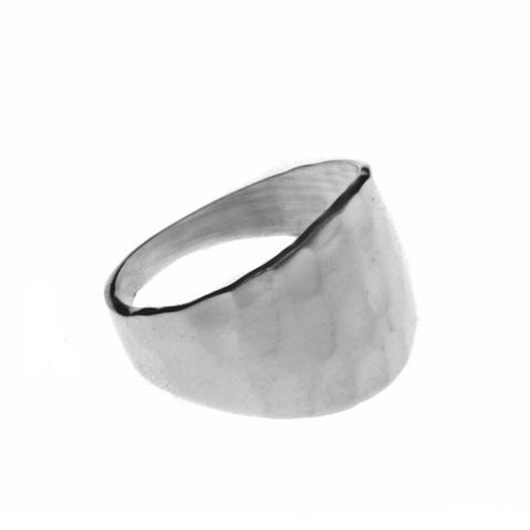 Yeni Hammered Ring