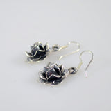 Rose Earrings - Medium